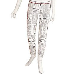 "LAST PIECE! John Galliano ""GAZETTE"" Trousers, Codice: 714G 1580"
