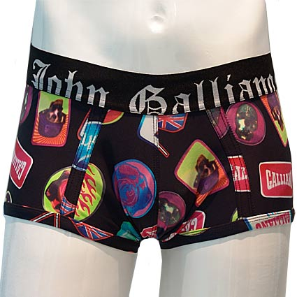 "John Galliano ""BADGE SWIMMING COSTUME"", Code:  L10 H307"