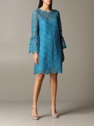 Alberta Ferretti clothing, Code:  5403 1631 GNAWED BLUE