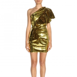 Alexandre Vauthier clothing, Code:  192DR1070 YELLOW