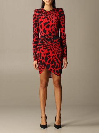 Alexandre Vauthier Kleidung, Code:  204DR13221351 RED