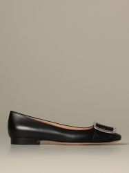 Bally shoes, Code:  JACKIE FLAT CRYS 00 BLACK