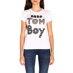 Dondup clothing, Code:  S007 JF0234D Z62 WHITE