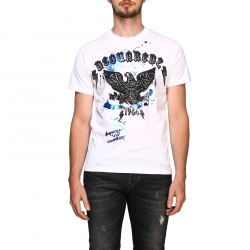 Dsquared2 clothing, Code:  S71GD0800S22844 WHITE