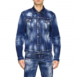 Dsquared2 clothing, Code:  S74AM1027S30342 BLUE