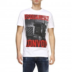 Dsquared2 clothing, Code:  S74GD0647S22427 WHITE