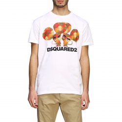 Dsquared2 clothing, Code:  S74GD0654S22427 WHITE