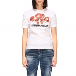Dsquared2 衣服, 编码:  S75GD0079S22427 WHITE