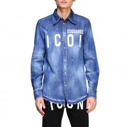 Dsquared2 clothing, Code:  S79DL0001S30341 DENIM