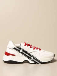 Dsquared2 shoes, Code:  SNM0133 01501652 WHITE
