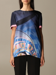 Emilio Pucci clothing, Code:  0RRM20 0R733 GNAWED BLUE