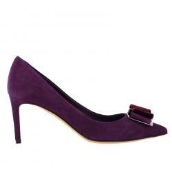 Ferragamo shoes, Code:  01P337 PLUM
