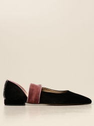 Gipsy Rose shoes, Code:  GRACE VELVET BLACK