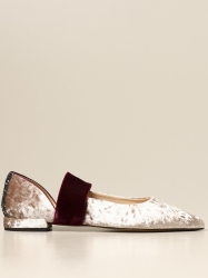 Gipsy Rose shoes, Code:  GRACE VELVET BLUSH PINK