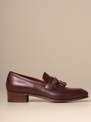 Gucci shoes, Code:  624316 1W610 BURGUNDY