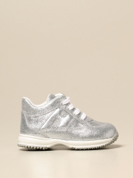 Hogan Baby shoes, Code:  HXT09200O243 FTI SILVER