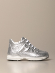 Hogan Baby shoes, Code:  HXT0920O243 FTI SILVER