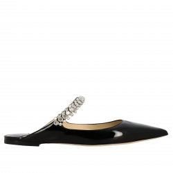 Jimmy Choo 鞋, 编码:  BING FLAT PAT BLACK