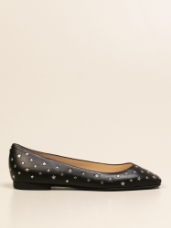 Jimmy Choo shoes, Code:  MODELL FLAT NWF SILVER