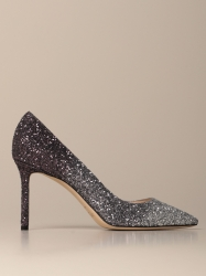 Jimmy Choo shoes, Code:  ROMY 85 VNB SILVER