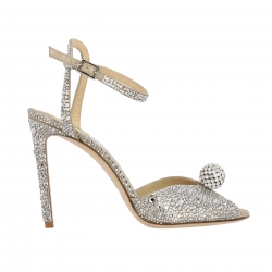 Jimmy Choo shoes, Code:  SACORA 100 PHZ SILVER