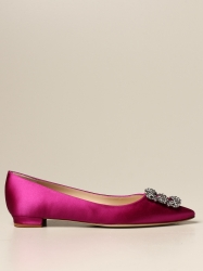 Manolo Blahnik shoes, Code:  9XX 0348 FUCHSIA