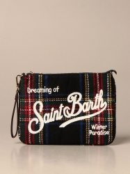Mc2 Saint Barth handbags, Code:  PARISIENNE W TARTAN BLUE NAVY BLUE