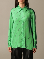 Msgm clothing, Code:  2941MDE17A207694 GREEN