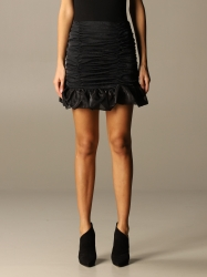 Nine Minutes clothing, Code:  THE BLONDIE SMOKE SKIRT BLACK