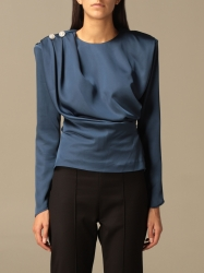 Nine Minutes clothing, Code:  THE LAURYN TOP BLUE