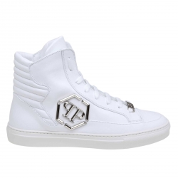 Philipp Plein shoes, Code:  MSC2300 PLE075N WHITE