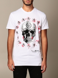 Philipp Plein clothing, Code:  MTK4570 PJY002N WHITE