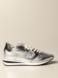 Philippe Model shoes, Code:  TZLD M007 SILVER