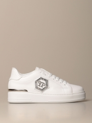 Philipp Plein shoes, Code:  WSC1687 PLE075N WHITE
