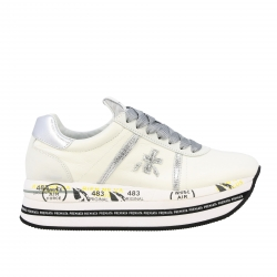 Premiata shoes, Code:  BETH 4517 WHITE