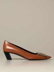 Roger Vivier shoes, Code:  RVW00600920 BSS LEATHER