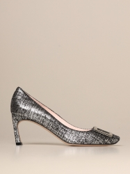 Roger Vivier shoes, Code:  RVW40015280 OYY SILVER