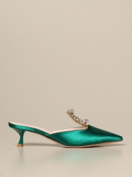 Roger Vivier shoes, Code:  RVW54329590 ONU GREEN