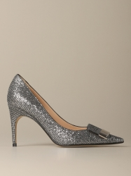 Sergio Rossi shoes, Code:  A78953 MTEL27 SILVER