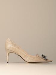 Sergio Rossi shoes, Code:  A81783 MFI154 PLATINUM