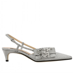 Sergio Rossi shoes, Code:  A83750 MMVL11 SILVER