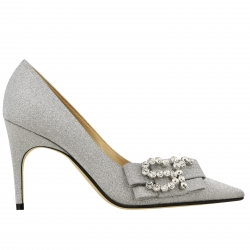 Sergio Rossi shoes, Code:  A83761 MMVL11 SILVER