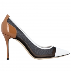 Sergio Rossi shoes, Code:  A89580 MFN922 WHITE