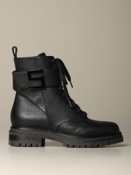 Sergio Rossi shoes, Code:  A91450 MMVR13 BLACK