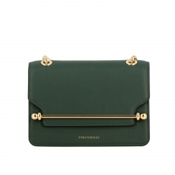 Strathberry handbags, Code:  EAST WEST MINI GREEN
