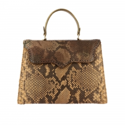 Tari' Rural Design handbags, Code:  1209 BROWN