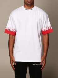 Vision Of Super clothing, Code:  VOS W1FLRED WHITE