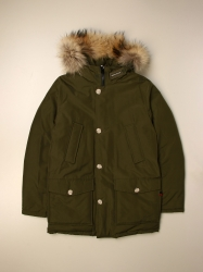 Woolrich clothing, Code:  WKOU0124MR UT0641 GREEN